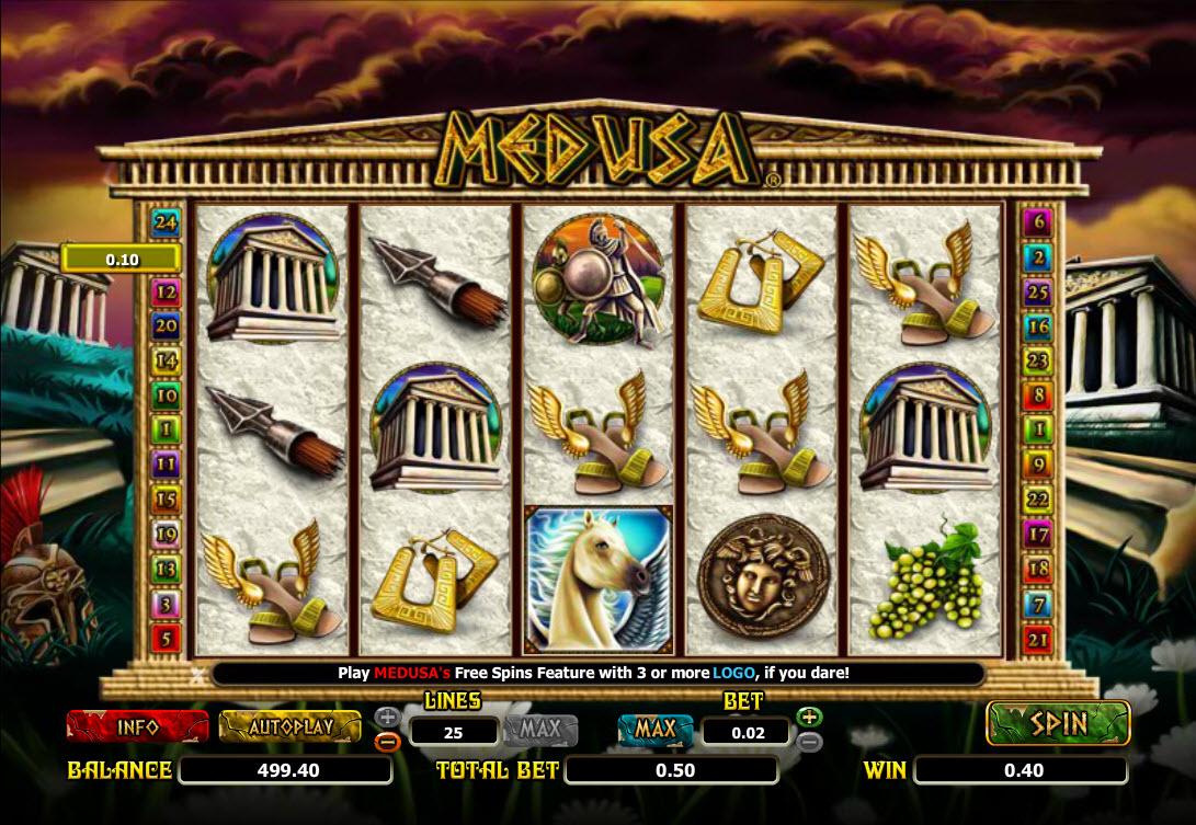 medusa screenshots slot
