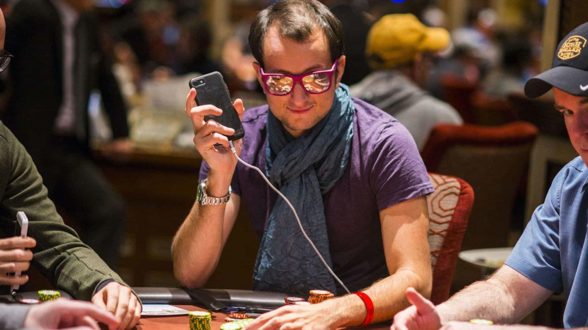 styling poker player